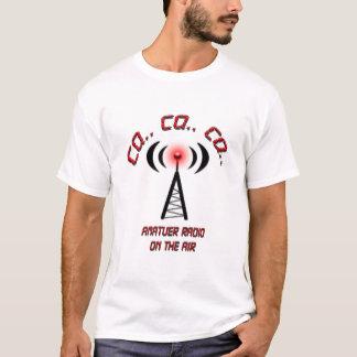 CQ. Amateur Radio op de Lucht T Shirt
