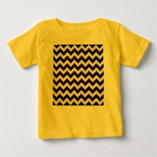 Creatieve kinder t-shirt: GELE ZWARTE Baby T Shirts