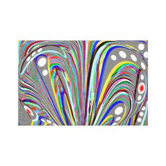Creatieve lijnen canvas afdruk