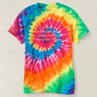 Creëer de stropdas-Kleurstof van de Koning van T Shirts