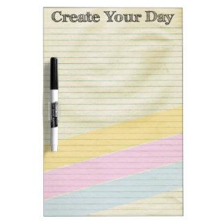 Creëer Uw Dag Whiteboard