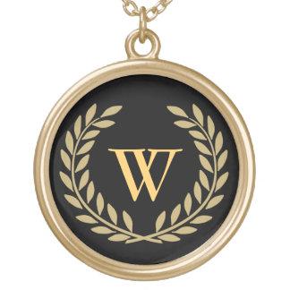 Creëer Uw Decoratief Monogram Goud Vergulden Ketting