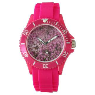 Creëer uw eigen bloemenfotohorloge horloge