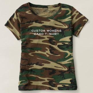 Creëer Uw Eigen Douane Camo T Shirts