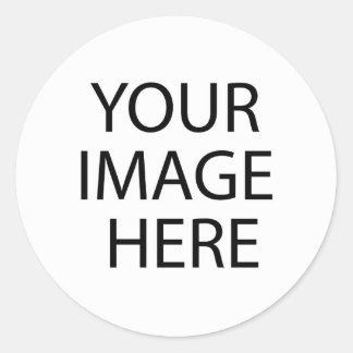 Creëer uw eigen douane Zelf Gepubliceerde Auteur Ronde Sticker