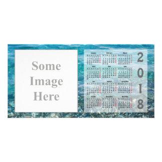 Creëer uw eigen Kaart van de Foto van de Kalender