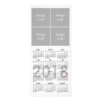 Creëer uw eigen Kaart van het de kalenderRek van
