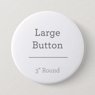 Creëer Uw Eigen Knoop Ronde Button 7,6 Cm