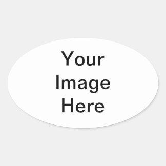 Creëer Uw Eigen Ovale Sticker