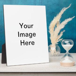 Creëer Uw Eigen Plaque Fotoplaat