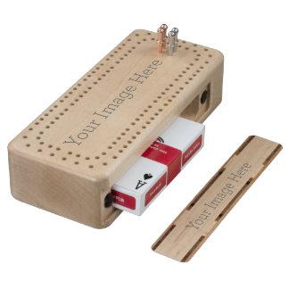 Creëer Uw Eigen Raad van het Spel van de Cribbage Esdoorn Cribbagebord