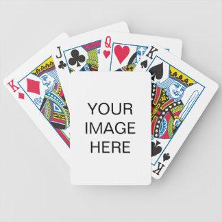 Creëer Uw Eigen Speelkaarten van de Fiets Poker Kaarten