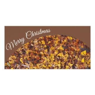 Creëer uw eigen Vrolijke de fotokaart van Kerstmis Kaart