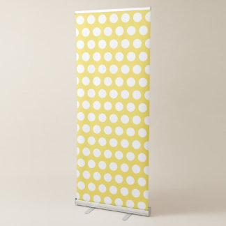 Creëer Uw Eigen Witte Stip Roll-up Banner