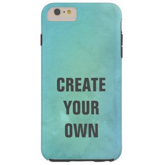 Creëer Uw het Eigen Turkooise Schilderen van de Tough iPhone 6 Plus Hoesje