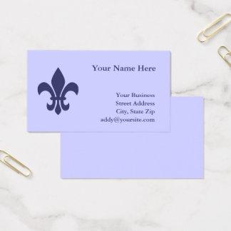 Creëer Uw Own Fleur DE Lis Visitekaartjes