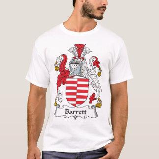 CREST van de Familie van Barrett T Shirt