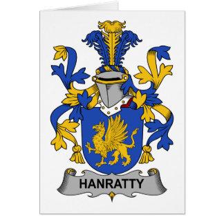 CREST van de Familie van Hanratty Briefkaarten 0