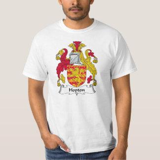 CREST van de Familie van Hopton T Shirt