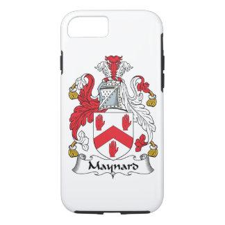 CREST van de Familie van Maynard iPhone 8/7 Hoesje