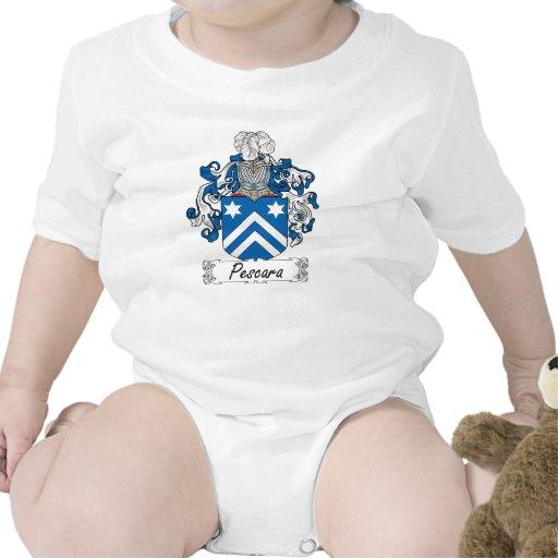 CREST van de Familie van Pescara T-shirt