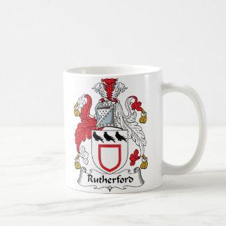CREST van de Familie van Rutherford Koffiemok