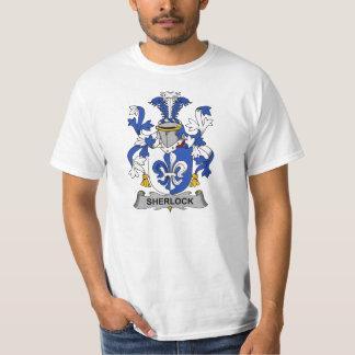CREST van de Familie van Sherlock T Shirt