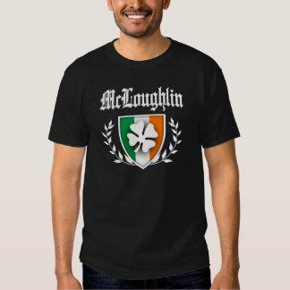 CREST van de Klaver van McLoughlin T-shirts