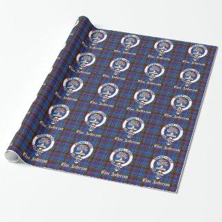 CREST van het Geruite Schotse wollen stof van Inpakpapier