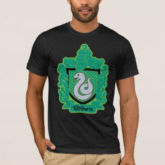 CREST van Slytherin van de cartoon T Shirt