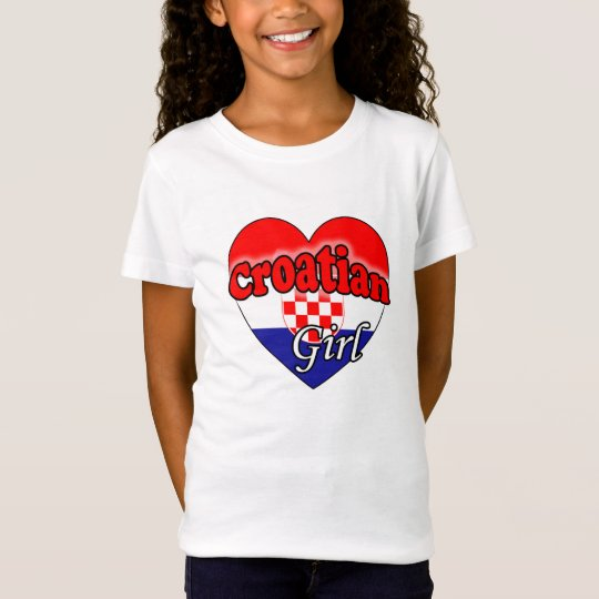Croatian Girl T Shirt
