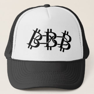 Crypto van het Symbool van het Logo van Blockchain Trucker Pet