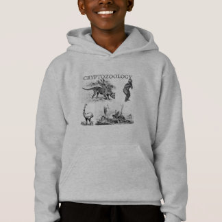 cryptozoology kinder sweatshirt met een kap