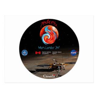 CSA en Phoenix Lander Briefkaart