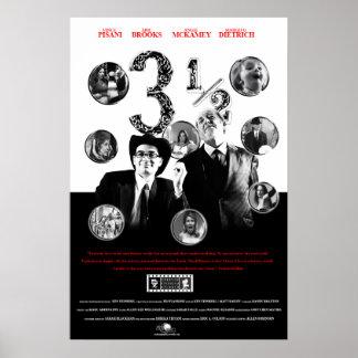 CSA het Poster van 3 1/2 27X40- Film