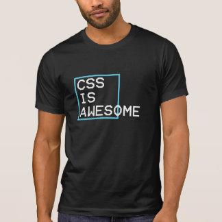 css is geweldige t shirt
