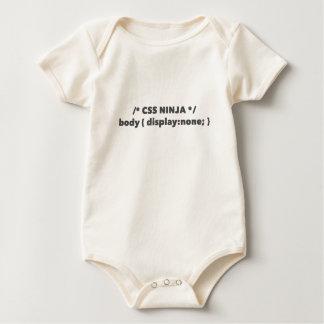 CSS Ninja - Vertoning niets - het Overhemd van het Baby Shirt