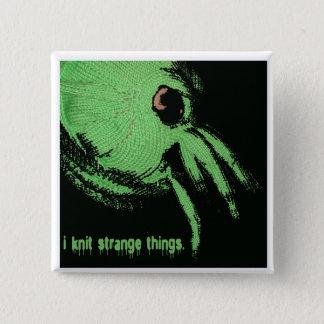 cthulhu breit knoop vierkante button 5,1 cm