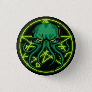Cthulhu Ronde Button 3,2 Cm