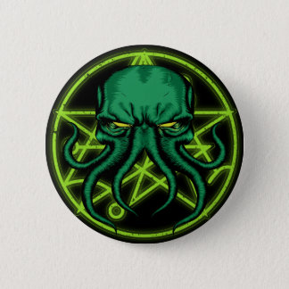 Cthulhu Ronde Button 5,7 Cm