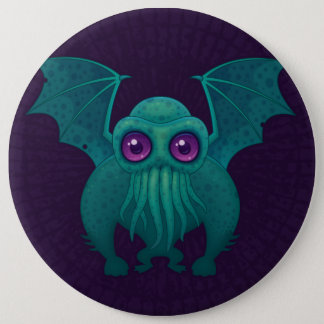 Cthulhu Ronde Button 6,0 Cm