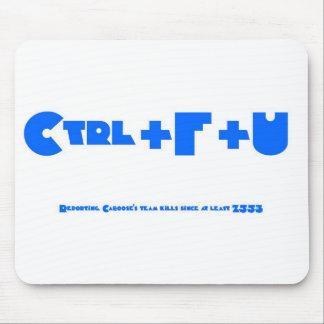 CTRL+F+U Wit Muismat