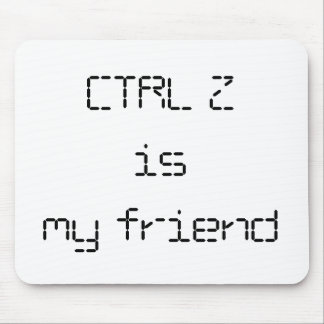 CTRL Z Mousepad Muismat