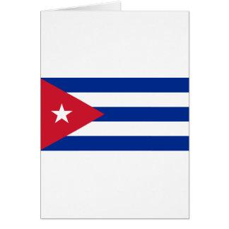 Cubaanse Vlag - Bandera Cubana - Vlag van Cuba Briefkaarten 0