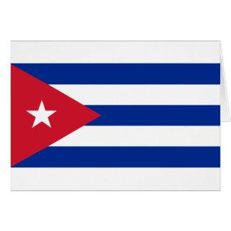 Cubaanse Vlag - Bandera Cubana - Vlag van Cuba Kaart
