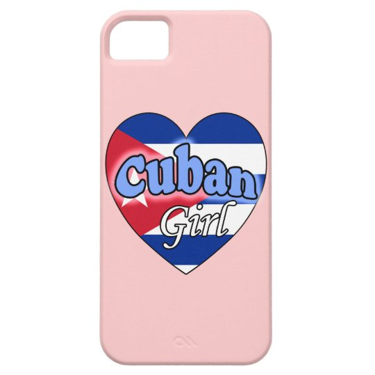 Cuban Girl Barely There iPhone 5 Hoesje