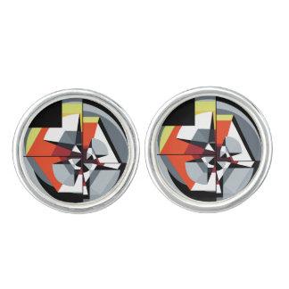 Cufflinks - geplateerd zilver - TMoM 1 Manchetknopen