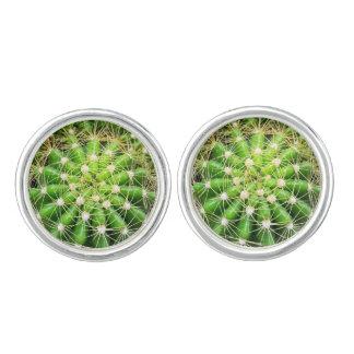 Cufflinks van cactussen Geplateerd Zilver Manchetknopen