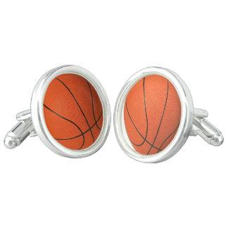 Cufflinks van het basketbal manchetknopen