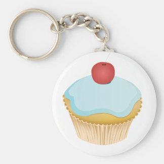 Cupcake Basic Ronde Button Sleutelhanger